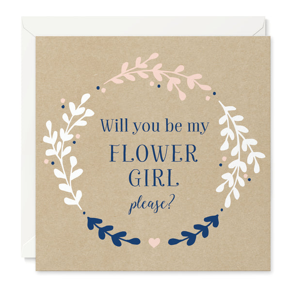 Hannah 'Will You Be My Flower Girl' Card
