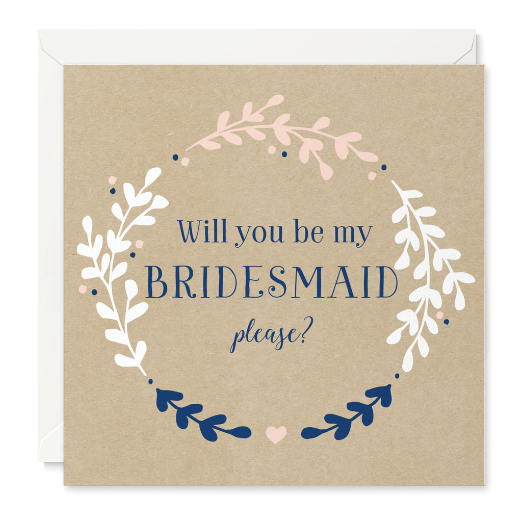 Hannah 'Will You Be My Bridesmaid' Card