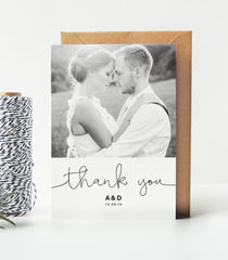 Kate Wedding Photo Thank You Cards - Project Pretty  - 2