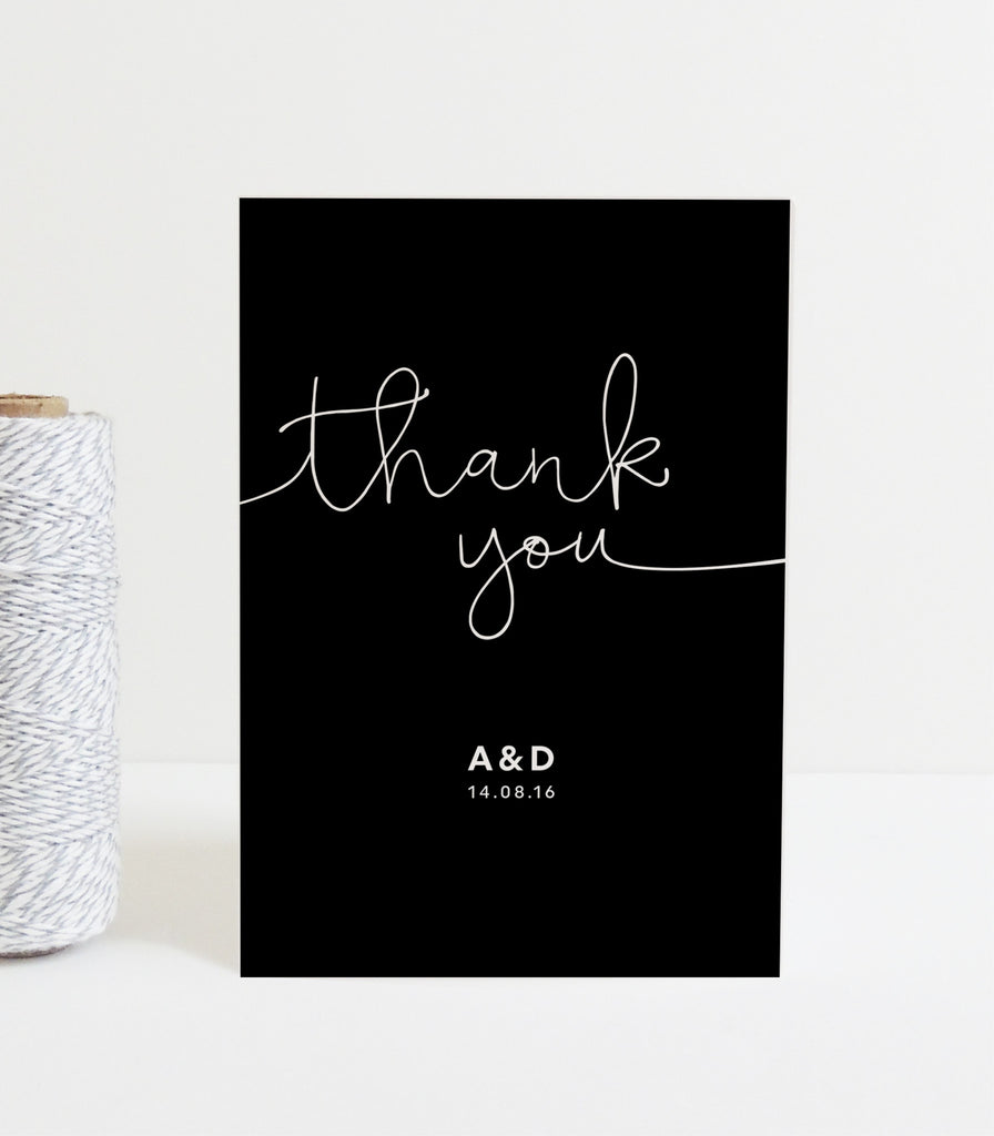 Kate Thank You Card - Project Pretty  - 1