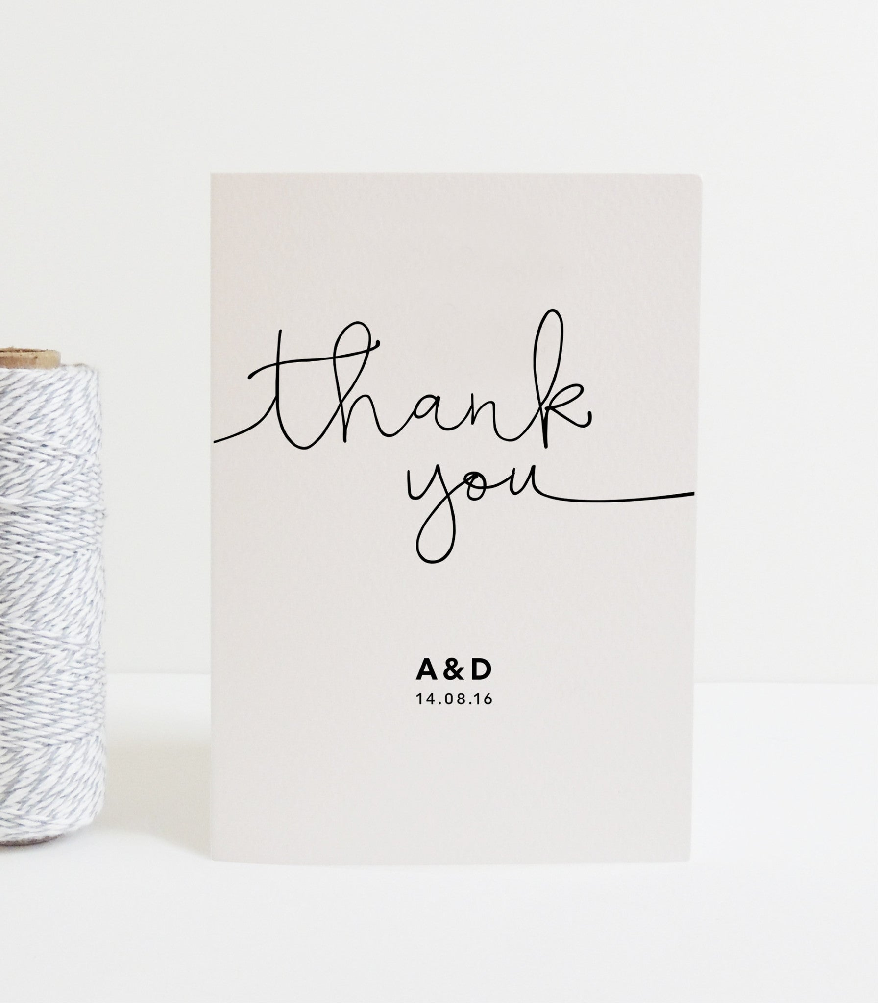 Kate Thank You Card - Project Pretty  - 2