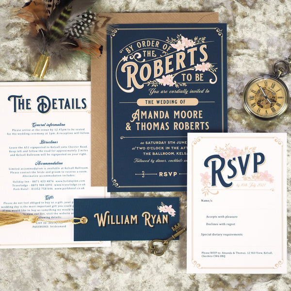 Lizzie Wedding Invitation