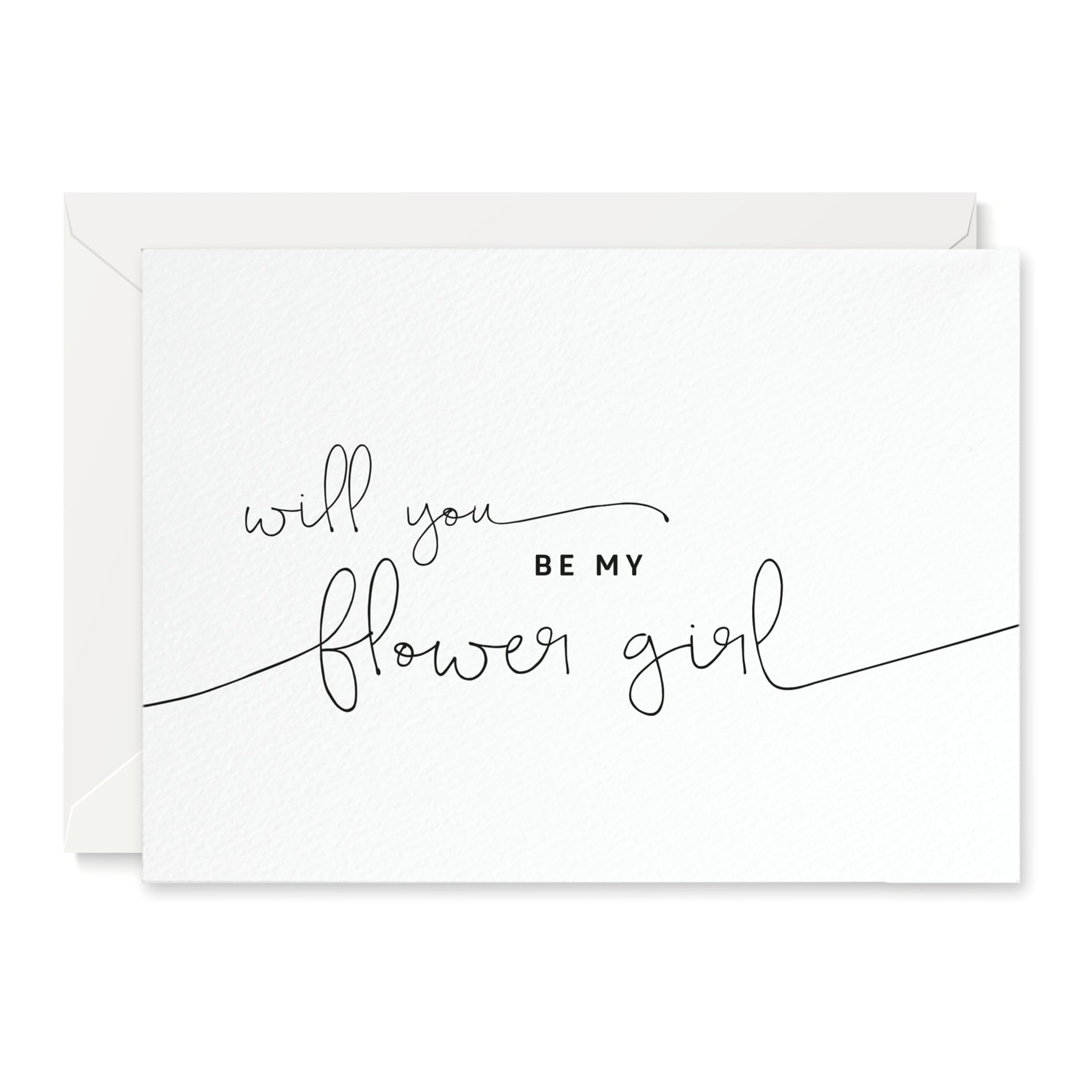 Kate 'Will You Be My Flower Girl?' Card