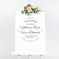 Olivia welcome sign