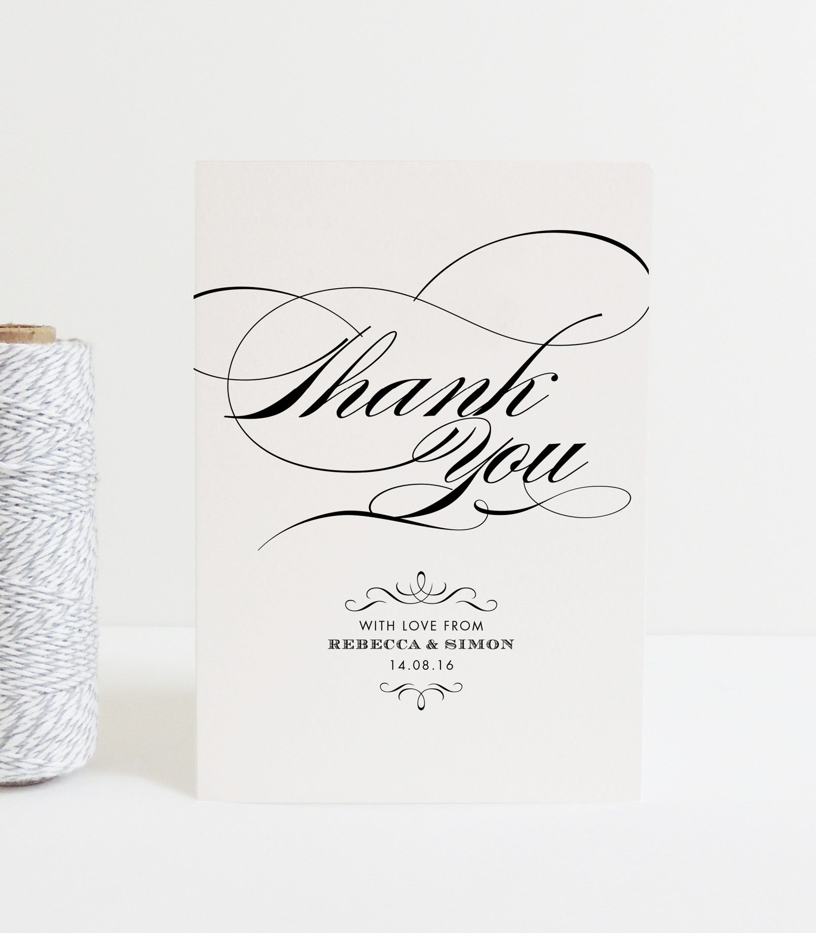 Olivia Thank You Card - Project Pretty  - 1