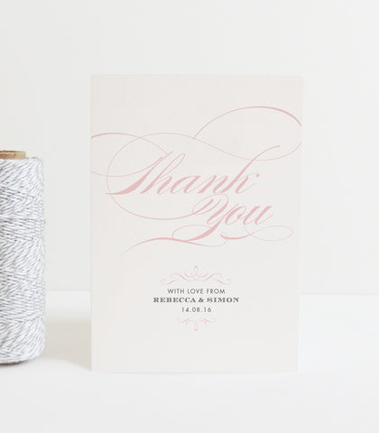 Olivia Thank You Card - Project Pretty  - 2
