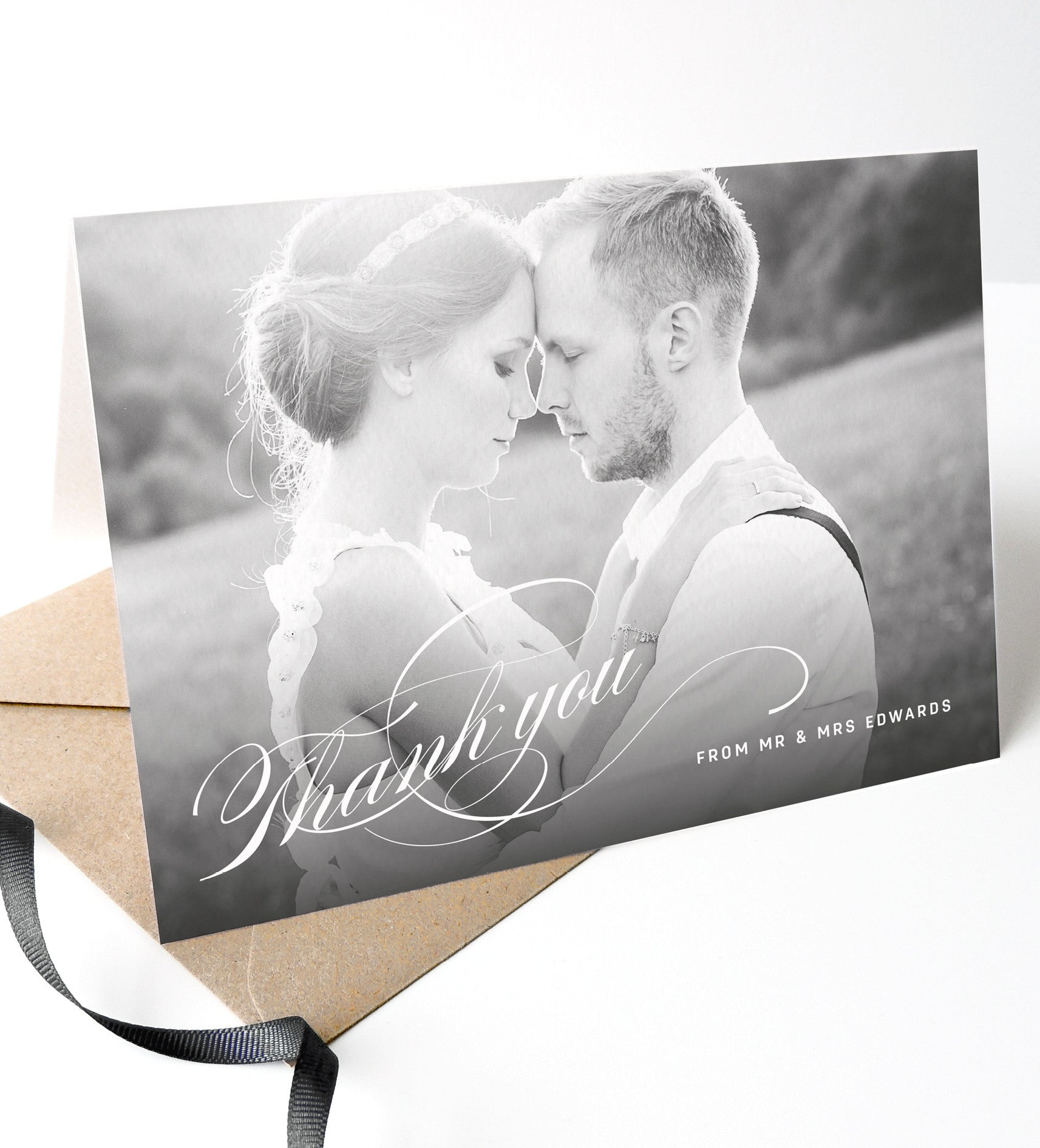 Victoria Wedding Photo Thank You Cards - Project Pretty