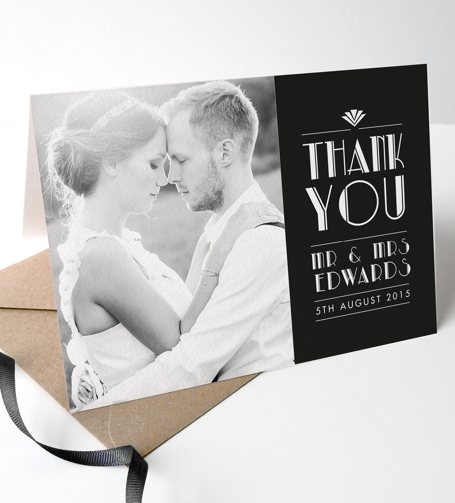 Estelle Wedding Photo Thank You Cards - Project Pretty  - 1