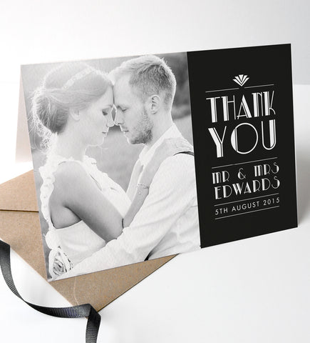 Estelle Wedding Photo Thank You Cards
