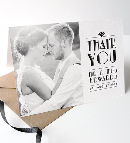 Estelle Wedding Photo Thank You Cards - Project Pretty  - 2