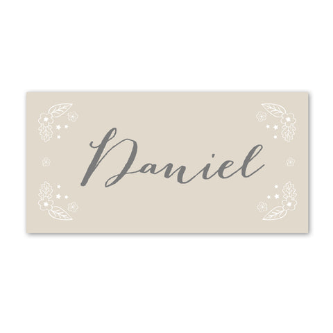 Enchanted Forest Place Cards