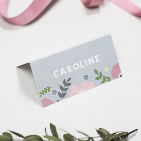Poppy Place Cards