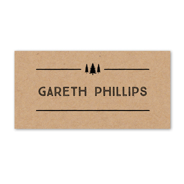 Adventure Place Cards