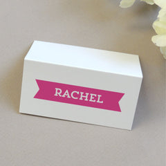 Ribbon Place Cards - Project Pretty  - 1