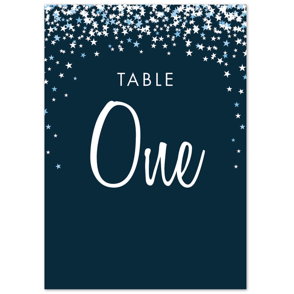 Bella table numbers