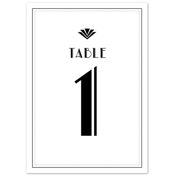 Estelle Table numbers