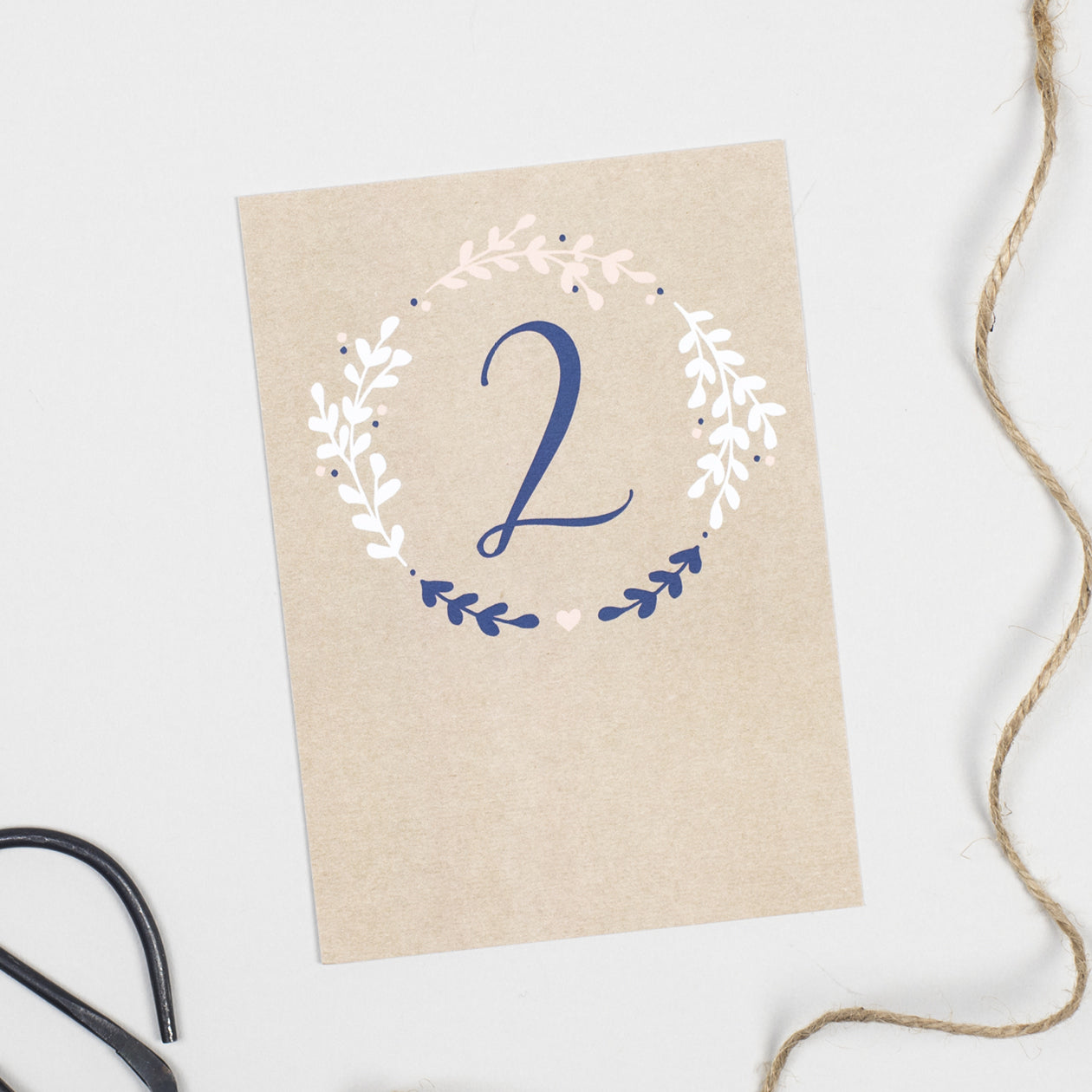 Hannah table numbers