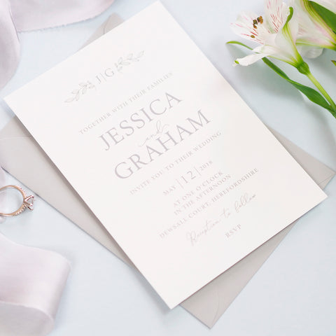 Darcey Wedding Invitation