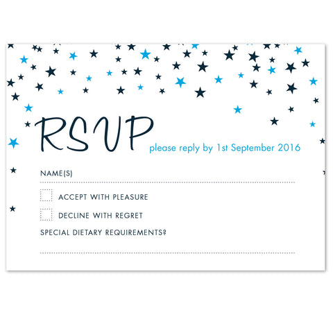 Bella RSVP card