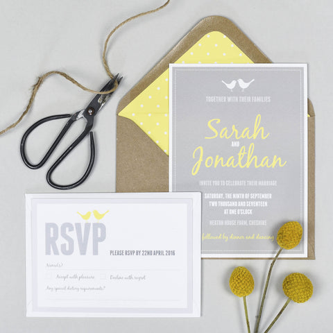 Amy Wedding Invitation