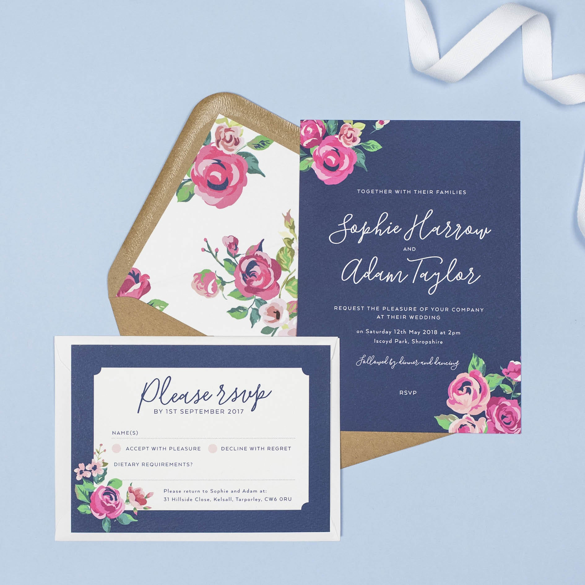 Adela Wedding Invitation