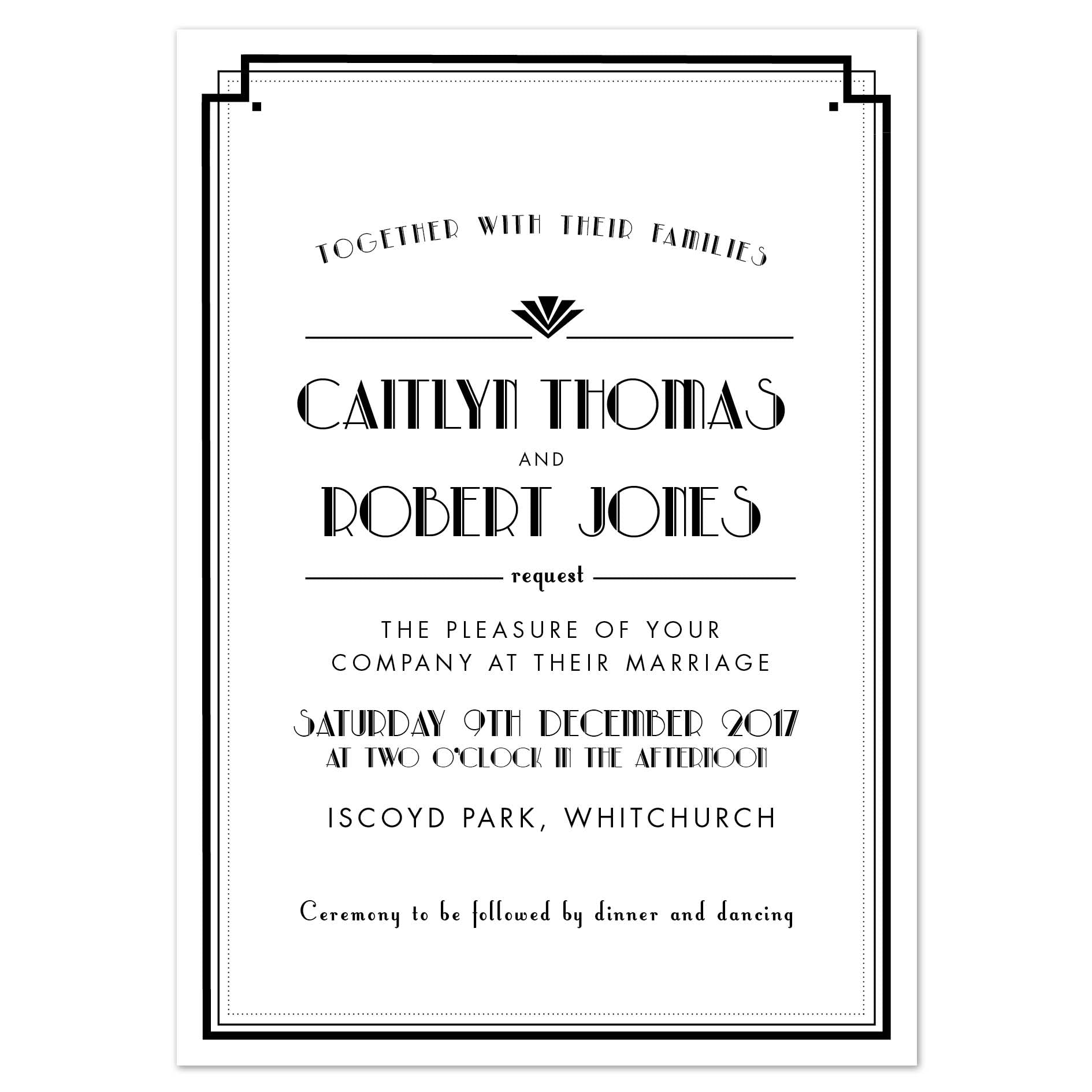Estelle Wedding Invitation