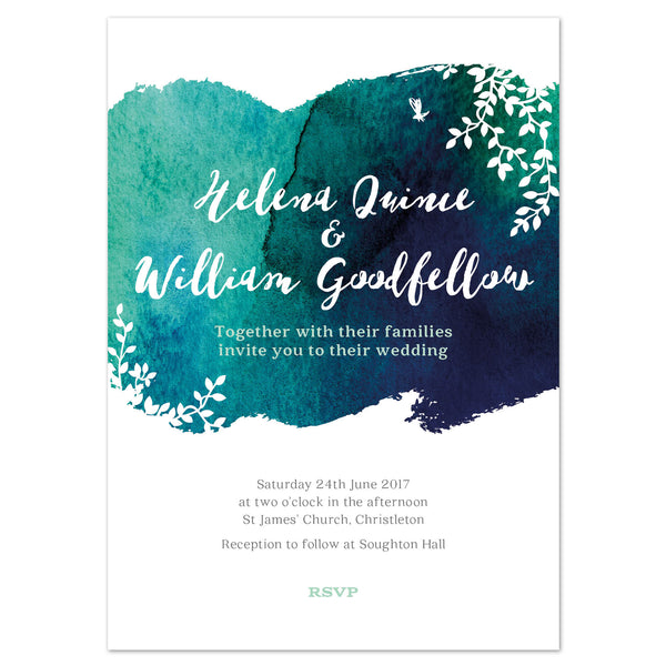 Helena Wedding Invitation