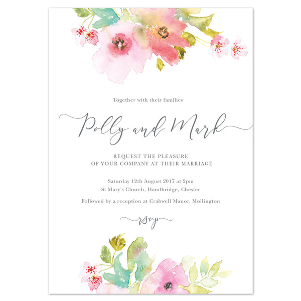Juliette Wedding Invitation