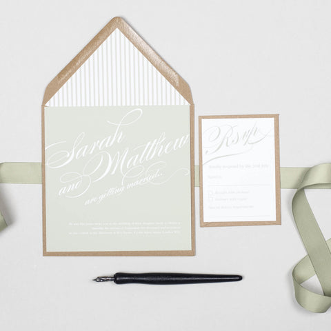 Victoria Wedding Invitation