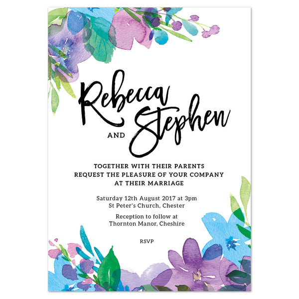 Harlow Wedding Invitation
