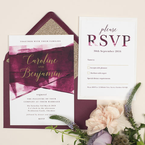Grace Wedding Invitation