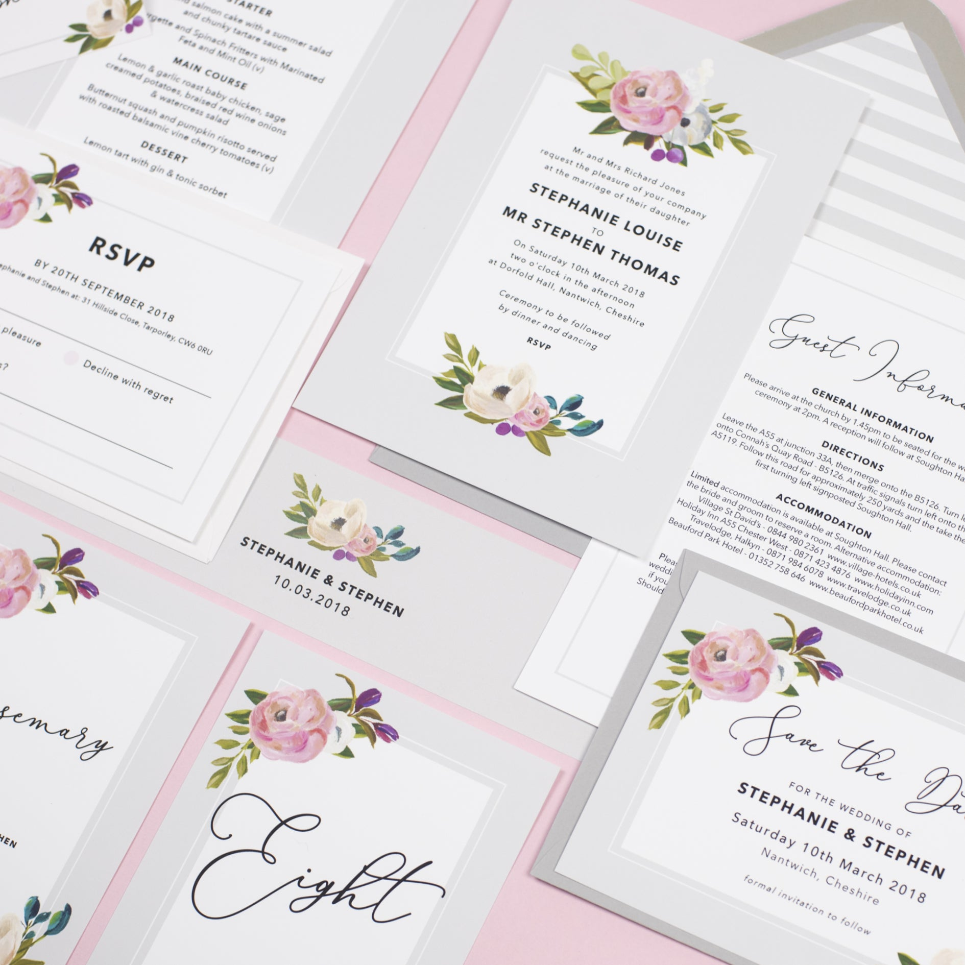sadie wedding invitation � project pretty