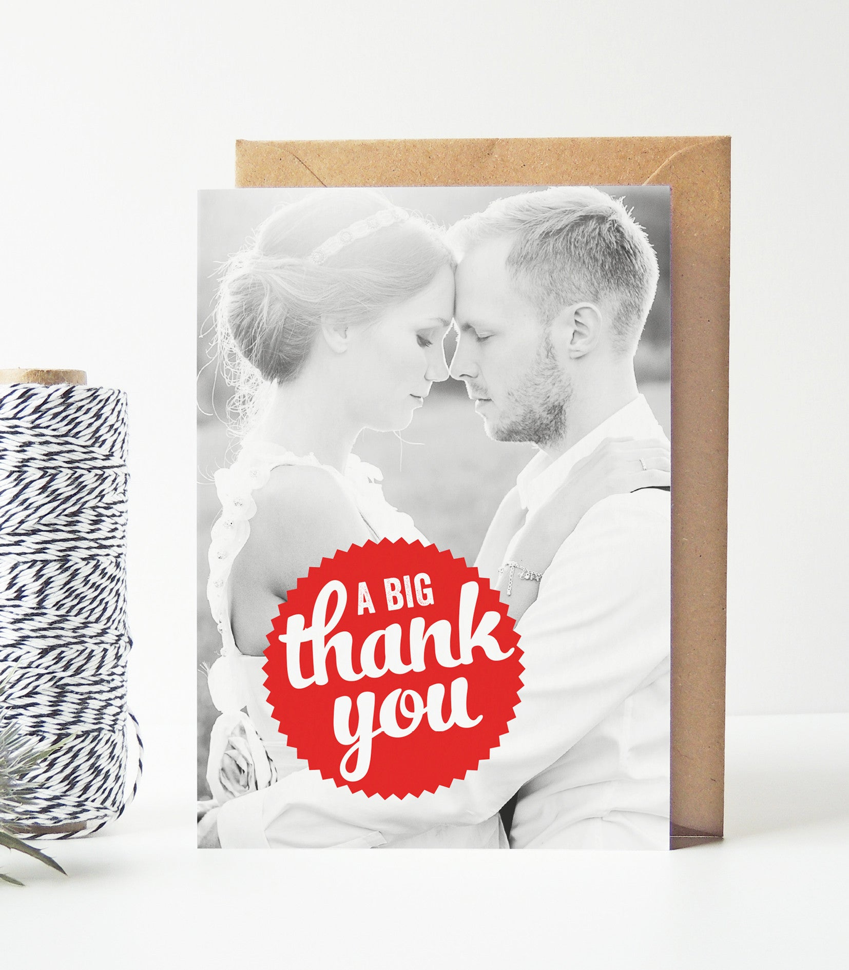Retro Vintage Wedding Photo Thank You Cards - Project Pretty  - 1