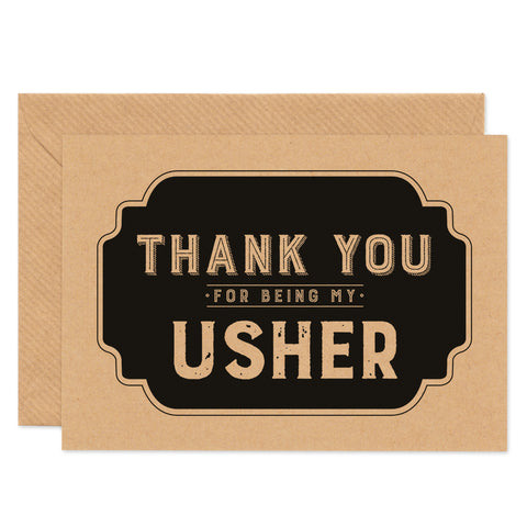 Retro Thank You For Being My Usher - Project Pretty  - 1