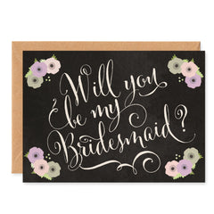 Will You Be My Bridesmaid? Card - Project Pretty  - 1