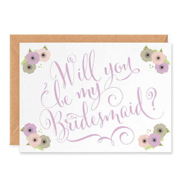 Will You Be My Bridesmaid? Card - Project Pretty  - 2