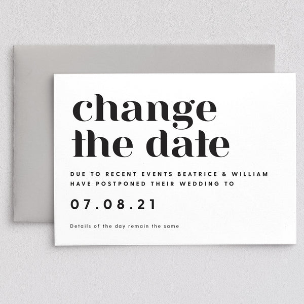 Billie Change The Date