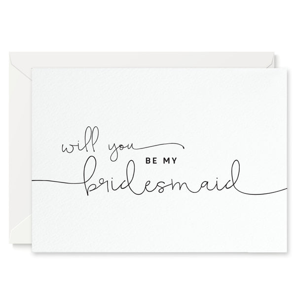 Kate 'Will You Be My Bridesmaid?' Card - Project Pretty