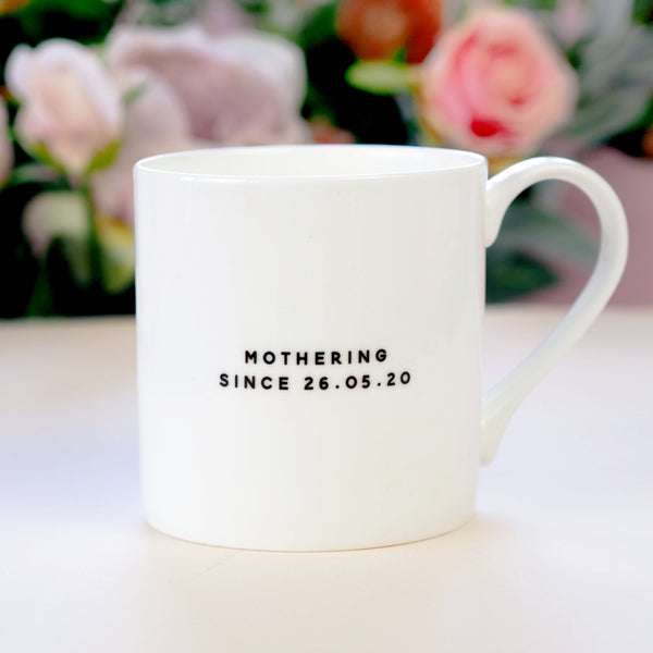 Personalised 'Winging it!' Bone China Mug