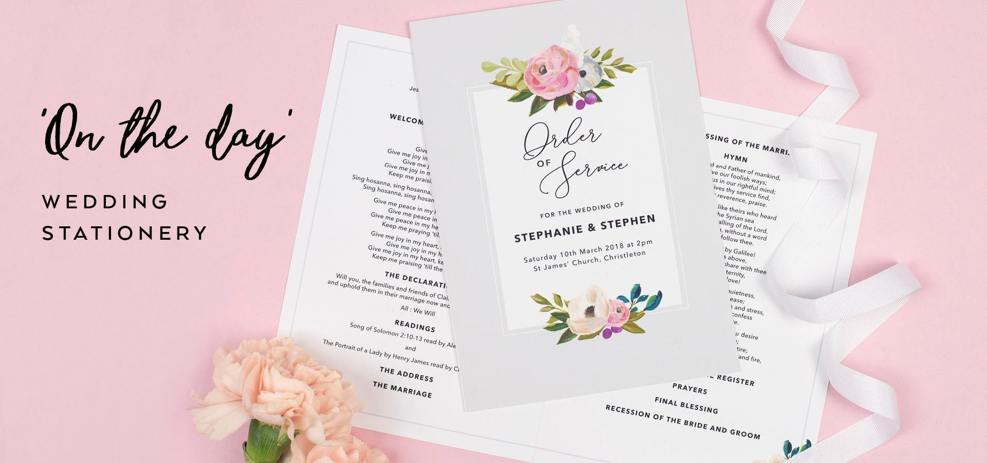 Wedding Stationery and Paper Goods – Project Pretty