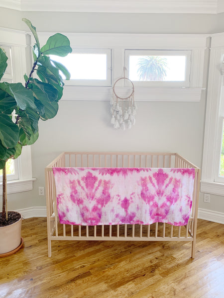 Tie Dyed Organic Swaddle Scarves™ in Desert Sunset - CovetedThings