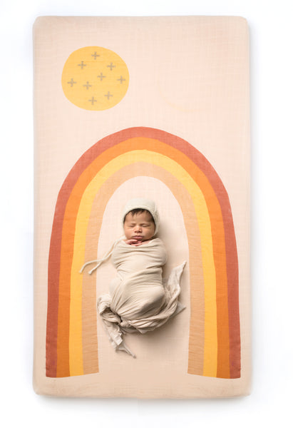 Rainbow Crib Sheet - CovetedThings