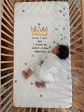 Crown Crib Sheet - CovetedThings