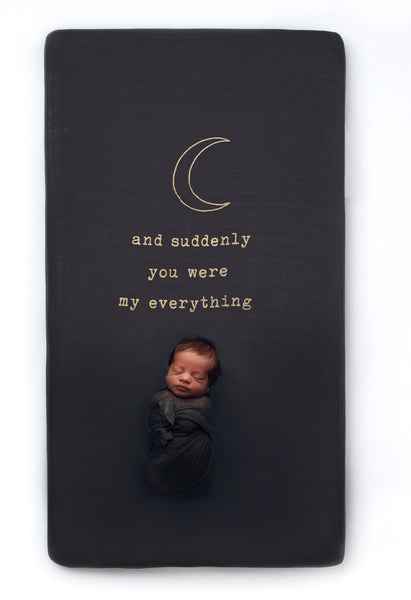 My Everything Crib Sheet - CovetedThings