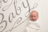 'It's All Good Baby Baby' Organic Swaddle Scarf™ - CovetedThings
