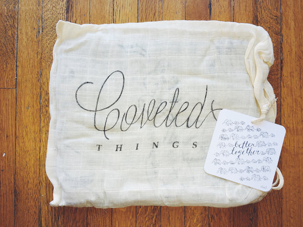 Better Together Organic Swaddle Scarf™ - CovetedThings