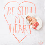 Be Still My Heart Organic Swaddle Scarf™ - CovetedThings