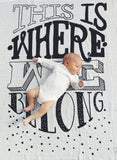 Where We Belong Organic Swaddle Scarf™