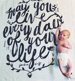 May You Live Organic Swaddle Scarf™ - CovetedThings