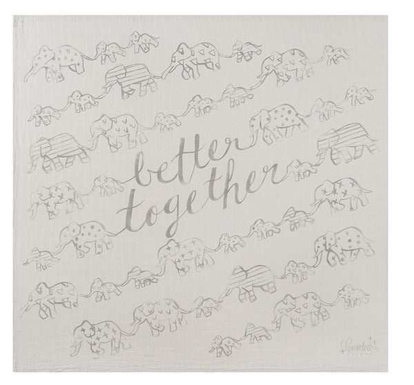 'Better Together' Organic Swaddle Scarf™